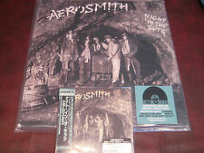 AEROSMITH NIGHT IN THE RUTS JAPAN REPLICA OBI RARE LIMITED CD + NUMBERED 180G LP
