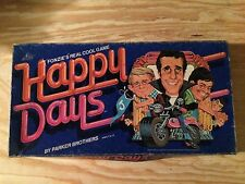 RARE VINTAGE 1976 HAPPY DAYS PARKER BROTHERS BOARD GAME FONZIE 1950's AMERICA!
