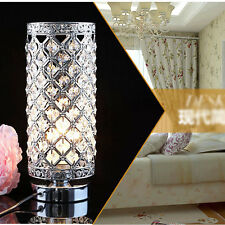 Modern Crystal Table Lamp Bedroom/Bedside lamp Creative table lamp 9633_Silver