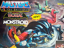 D1042161 MONSTROID WITH BOX HE-MAN MOTU VINTAGE WORKING NEAR MINT
