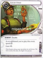 Android Netrunner LCG - 1x Lucky Find  #109 - Double Time