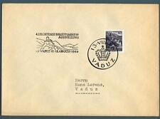 LIECHTENSTEIN - 1943 - Castello di Vaduz con annullo speciale - (MR)