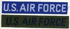 US AIR FORCE Name Tag PATCHES Lot of 2