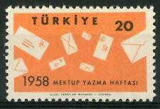 TURKEY - TURCHIA - 1958 - Settimana internazionale della lettera