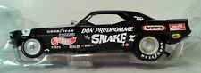 UPDATED TO RACE DAY Don Prudhomme SNAKE III BLACK NHRA Plymouth Funny Car AW1177
