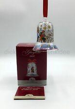 Hutschenreuther Glas Glocke Kristallglocke Weihnachtsglocke 2016 - Höhe: 7,5cm