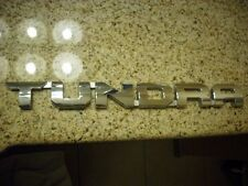 14-15 Toyota Tundra Chrome Emblem Badge Genuine OEM Door