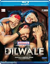 DILWALE 2015 - OFFICIAL BOLLYWOOD BLU RAY [SHAH RUKH KHAN] - FREE POST