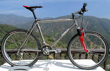 1990 Merlin Titanium MTB/Cyclocross  High-Tech HI Performance Titanium MTB Cycle