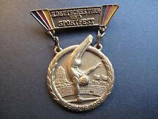 Original Abzeichen DDR II. Deutsches Turn und Sportfest Leipzig 1956