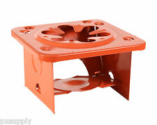 single burner folding stove camping  safe and compact orange rothco 365