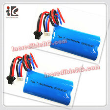 2X 7.4V 1500MAH BATTERY For JXD 350V/Viefly VIGOR V30 RC Helicopter 350V-15