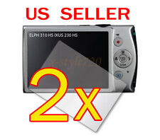 2x Canon ELPH 310 HS / IXUS 230 HS Digital Camera LCD Screen Protector Guard