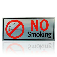 NO SMOKING SIGN ADHESIVE NO SMOKING STICKER SIGNS PERMANENT FLEXIBLE METAL NEW