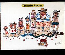FAMILLE en VACANCES ... par VUILLEMIN / ECHO DES SAVANES