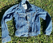 Vintage Lee Union Made in USA Denim Jacket Mens Sz 36R Blue Jean