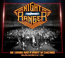 NIGHT RANGER New Sealed 2016 LIVE CHICAGO CONCERT DVD & CD BOXSET