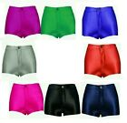 NEW WOMENS SHINY HIGH WAIST APPAREL AMERICAN DISCO SHORTS HOT PANTS