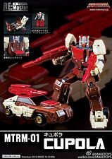Transformers Maketoys MTRM-01 Cupola Headmaster Chromedome in Stock