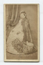 CDV QUEEN VICTORIA LOOK ALIKE WITH GLASSES.