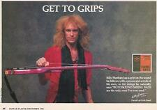 1986 BILLY SHEEHAN FOR ROTOSOUND BASS STRINGS AD