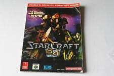 StarCraft 64 Prima Offical Players Guide Nintendo 64 N64 Strategy Hint Book HTF