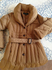 PUFFER Down Coat Quilted Jones New York Medium  Perfect./  Belt  MINT