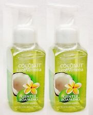 2 Bath & Body Works COCONUT LIME VERBENA Gentle Foaming Hand Soap Wash
