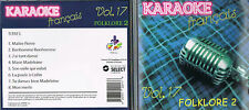 Karaoke CD+G Folklore 2 Francais Vol.17 CDG BRAND NEW, MusicaMonette from Canada