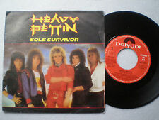 HEAVY PETTIN Sole Survivor SPAIN 45 1985