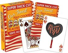 Bacon playing cards Brand New Sealed