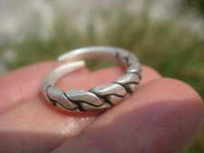 999 fine silver hill tribe ring thailand jewelry art A48 size 7 to 7.25