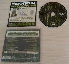 CD ALBUM US ALIEN (CHAPTER ONE) ROCKIN' SQUAT 17 TITRES 2011