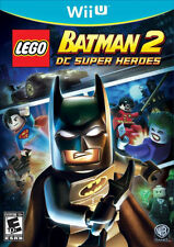 LEGO Batman 2 DC Super Heroes -- Nintendo WiiU Wii U Game -- Near Mint