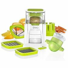 Vegetable Chopper French fry cutter Fruit wedge Juicer Dice Mince Slice w/ Blade