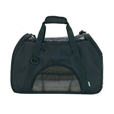 Attmu Comfort Soft-Sided Black Pet Carrier For Cats & Dogs