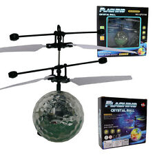 Children Kid Flying RC Ball Led Flashing Light Aircraft Helicopter interesting