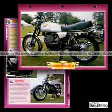 #055.05 Fiche Moto LF HARRIS MATCHLESS 500 G80 1987-89 Motorcycle Card