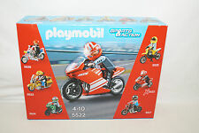 Playmobil Sports & Action 5522 racing bike Superbike moto