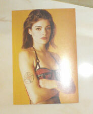 Postkarte Erotik R. KERN New York Girls Leder AKT BEAUTY LEATHER TATTOO Domina