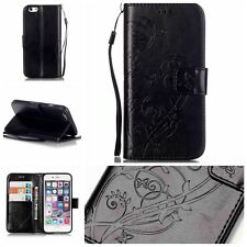 Fashion Book Style Flip Magnetic Stand Wallet PU Leather Cover Case For Phone YB