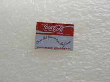 PIN'S coca cola anniversaire CASINO  #2  PINS PIN coke SUPERMARCHÉ BOISSON T21