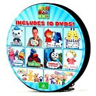 ABC FOR KIDS - 10-DISC DVD TIN: Sesame Street, Octonauts, Play School, Thomas