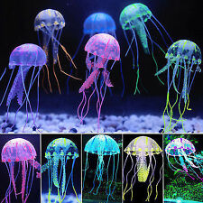 Aquarium Decoration Action Toy - Jelly Fish - Small - Glowing Effect Cute Move