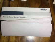 Hiretech htf 10 floor sander auto abrasif draps 180 grain free p&p