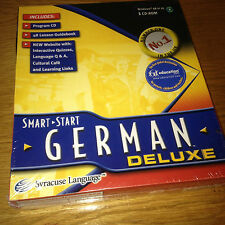 Smart Start GERMAN DELUXE CD ROM Language Learning Package LEARN EDUCATIONAL