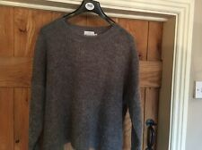 THE MASAI CLOTHING COMPANY GREY JUMPER SIZE S / OVERSIZED -worn Twice