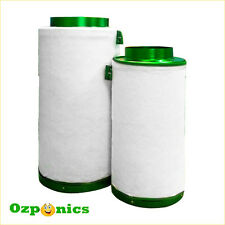 FILTAROO RC412 CHARCOAL AIR ACTIVATED CARBON FILTER 125MM X 300MM HYDROPONICS