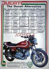1978 DUCATI 'SO 900' Motor Cycle ADVERT #1 - Original Print Ad 492d