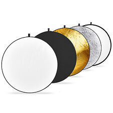 Neewer 32-inch/80cm 5 in 1 Collapsible Light Reflector with Bag for Photography